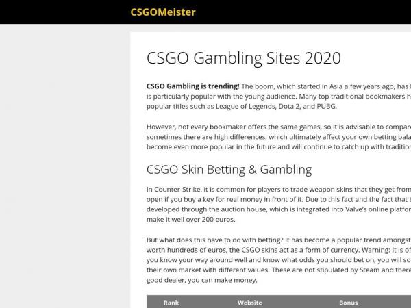 csgomeister.com