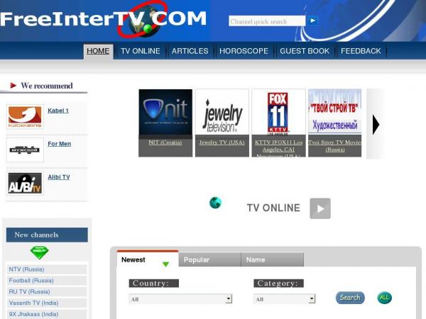 freeintertv.com