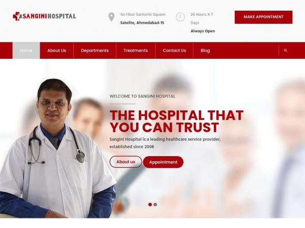 sanginihospital.com